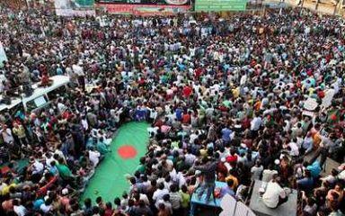 Shahbagh youths spread to Motijheel