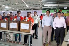 WWA Election held in Softex Sweater Industry in DEPZ