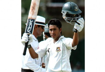 Ashraful hits century
