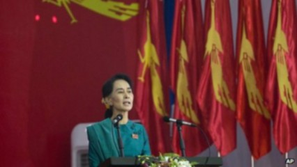 Suu Kyi re-elected Burmese opposition NLD leader