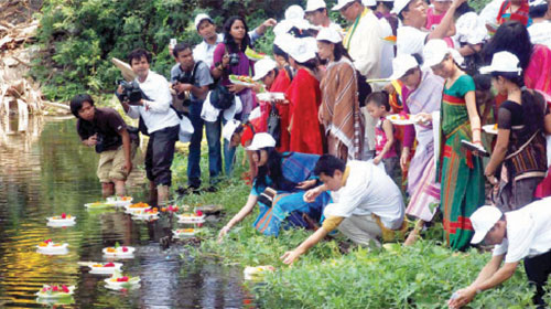 Baisabi celebrations begin in Bangladesh