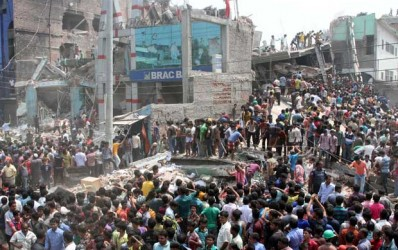 Building collapse kills five in Bangladesh