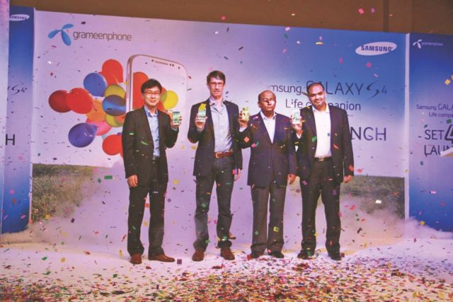 Samsung Galaxy S4 launched in Bangladesh