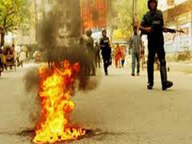 Opposition's 60-hr strike begins in Bangladesh