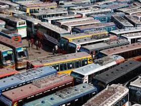 Countrywide 24-hr transport strike begins