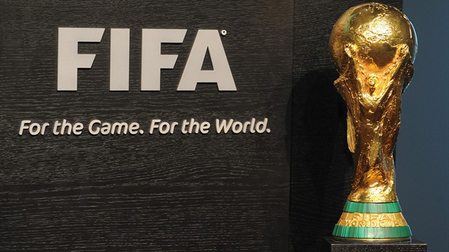 FIFA World Cup trophy in Bangladesh