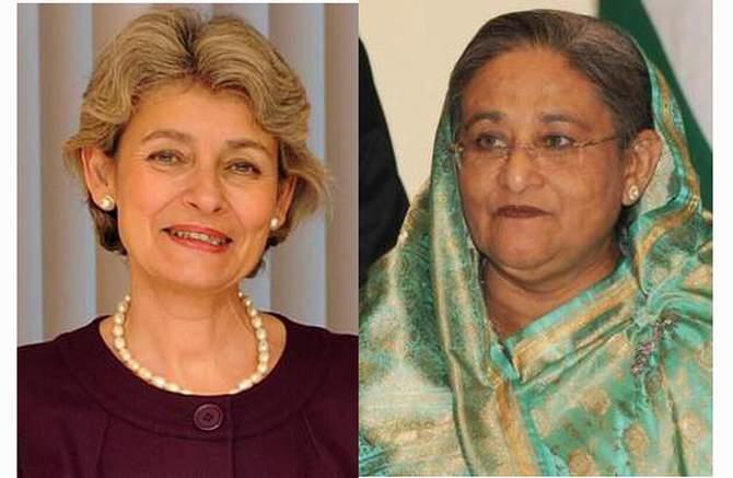 UNESCO praises Hasina's role in empowering women