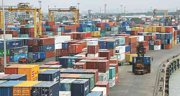 Bangladesh's imports fall by 15.62% in Feb