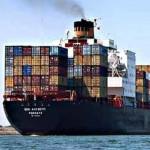China exports fall