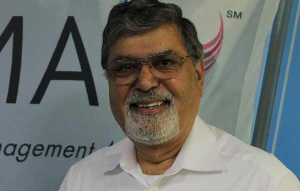Gulzari Lal Babber- an enthusiastic member of CIMA