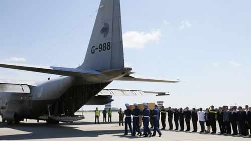 Netherlands holds solemn ceremony for MH17 victims