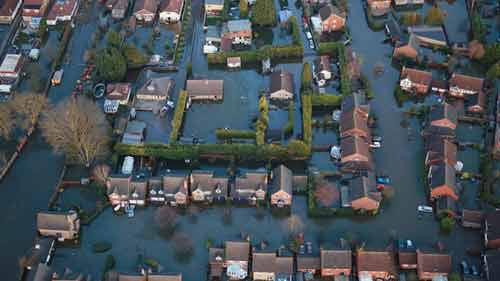 Climate concern 'linked to floods'