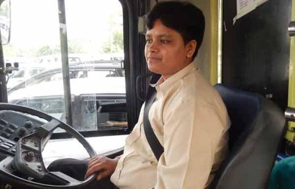 Saritha, first Indian woman bus driver
