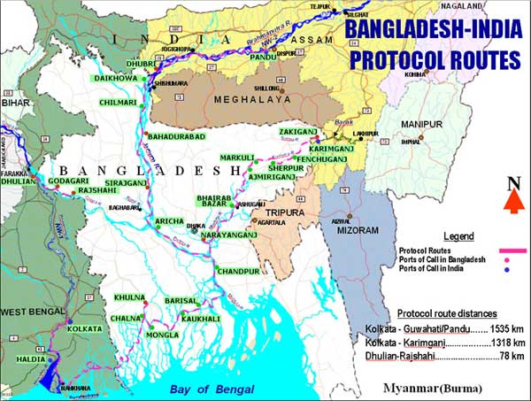 Bangladesh, India to extend water transit, trade protocol