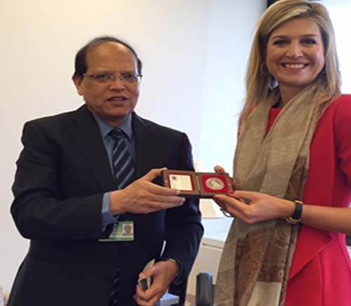 Netherlands Queen lauds Bangladesh's financial inclusion campaign