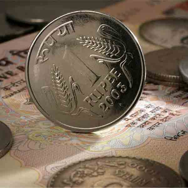 Rupee trims initial gains; still up 4 paise at 64.13