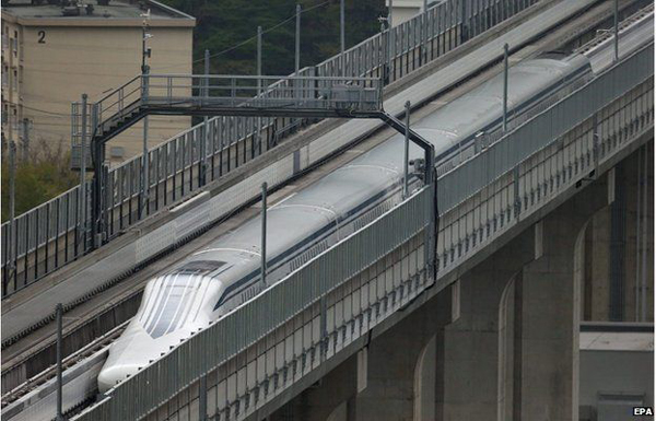 Japan train breaks world speed record again