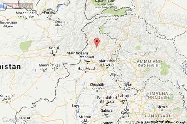 5.5 magnitude quake jolts Pakistan's northwest