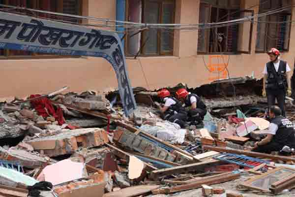 Frustration over Nepal quake relief