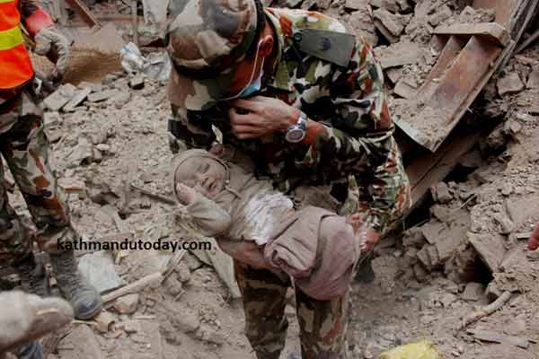 Nepal quake toll rises to 5,000