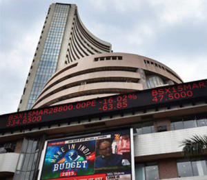 Sensex extends gains, climbs 91 pts in early trade on GDP data