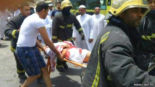 Suicide bombing kills 10 at Saudi mosque