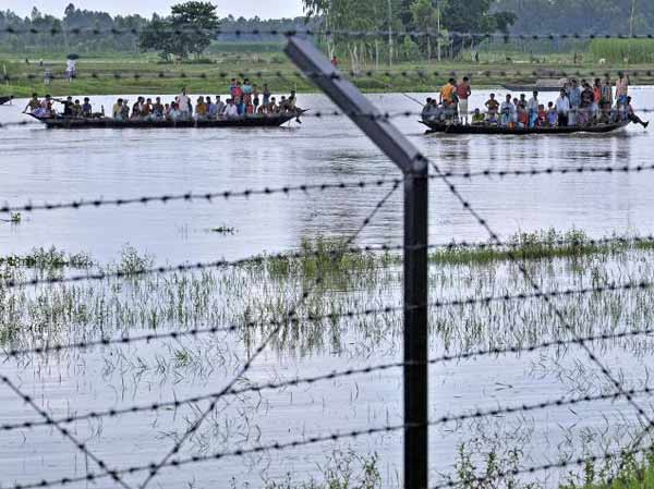 Land acquisition, protests delay Indo-Bangla border fencing