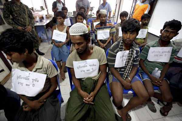 'Malaysia holds more slave camps than Thai'