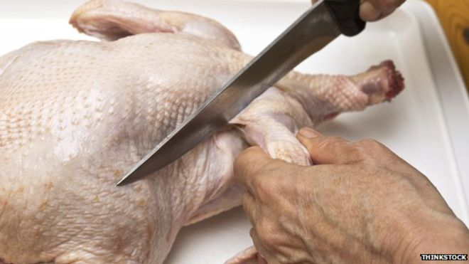 Food bug 'found in 73% of chickens'
