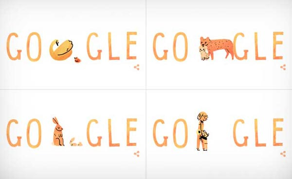 Google celebrates Mother's Day 2015 with a Doodle
