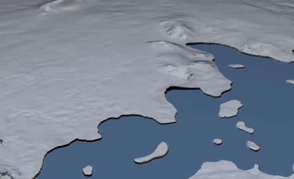 Concern over rapidly thinning Antarctic glacier