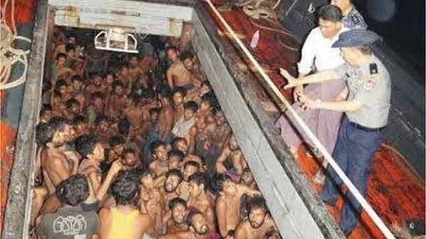 Myanmar rescues 200 migrant at Bangladesh border