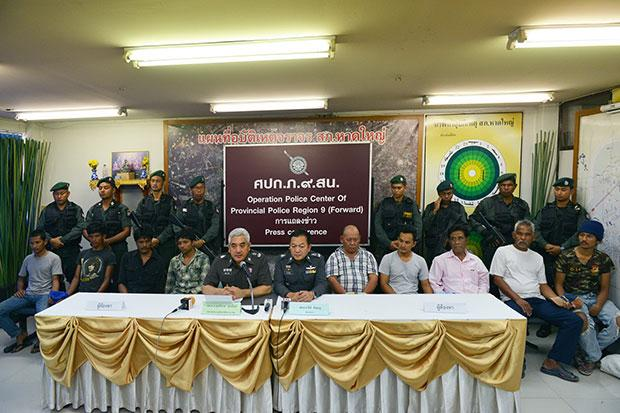 Bangladeshi, 8 other human traffickers held in Thailand