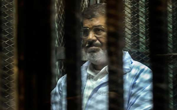 Egypt's Mursi sentenced to death