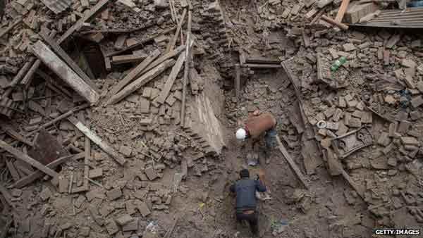 Nepal quake epicenter devastated: Red Cross