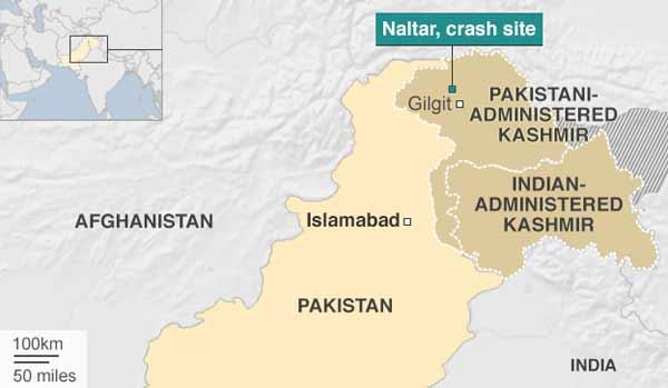 Pakistan helicopter crash kills foreign envoys