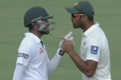 Cricketers Shakib, Wahab fined for altercation