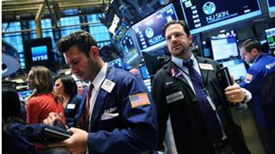 US shares flat amid global fears