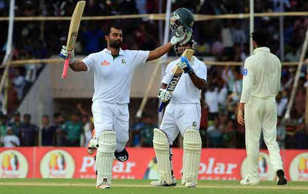 Bangladesh achieve first Test draw against Pakistan