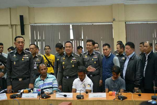 4 held over Thai mass grave case