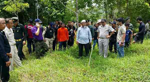 More Rohingya burial grounds found off Phuket