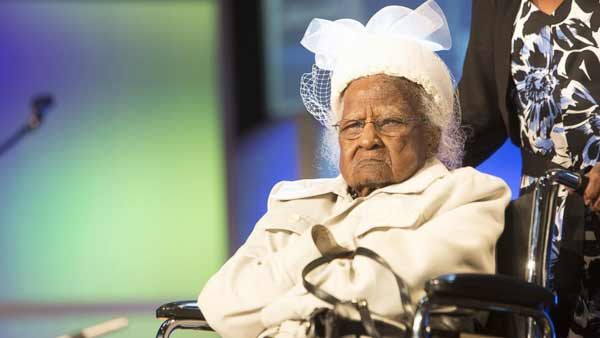 World's oldest person celebrates 116th birthday in Michigan