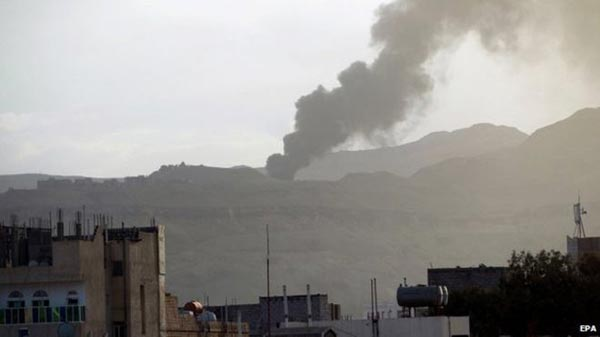 Yemen air strike 'hits wrong troops'