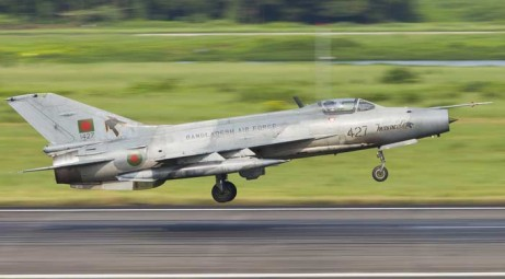 Bangladesh Air Force fighter F-7