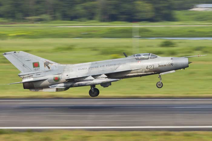 BAF fighter aircraft crashes in Bangladesh, pilot missing