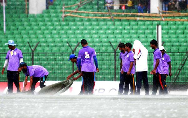 Bangladesh-India play again called off due to rain