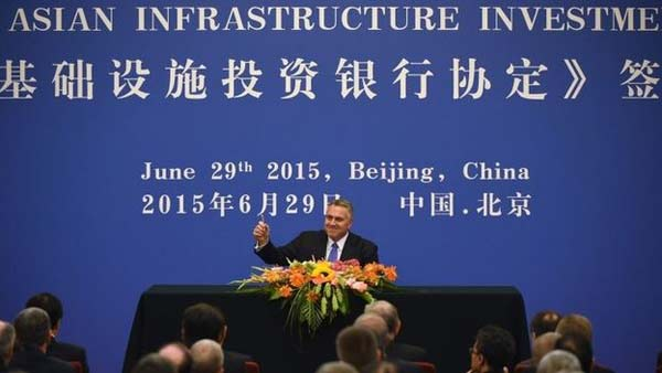 China-led global bank takes shape