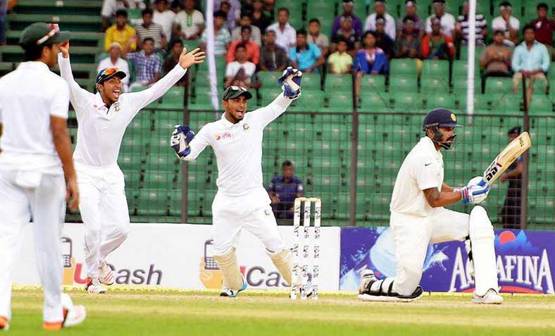 Fatullah Test: India score 239 on Day 1