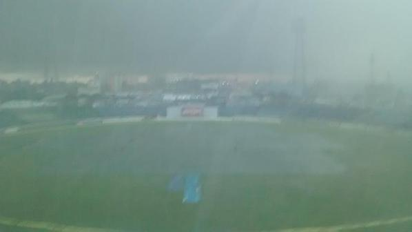 Bangladesh-India Test 2nd day play called off