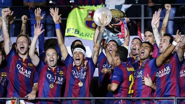Barcelona crowned European Cup for 5th time